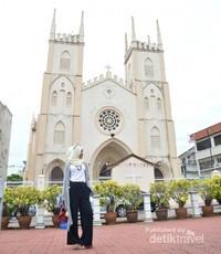 Melaka penuh dengan bangunan bersejarah