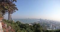 Pemandangan kawasan Pattaya dari Pattaya View Point