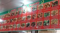 Aneka pilihan menu di Amir Halal Food