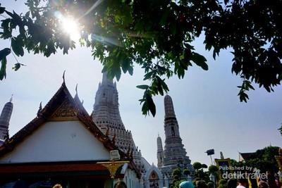 Ke Thailand, Belum Lengkap Tanpa ke Wat Arun