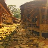 Rumah Suku Baduy Luar