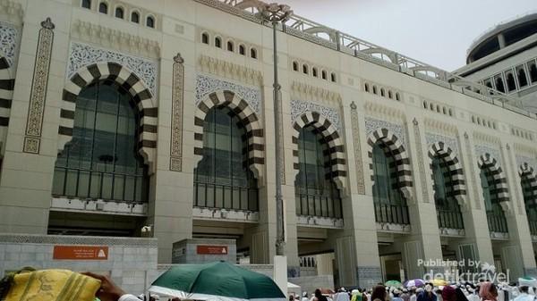 Di area perluasan  Masjidil Haram ini juga terdapat tempat untuk berwudhu.