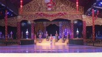 Panggung pementasan Thai Cultural Show