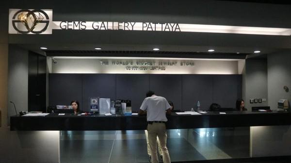 Pusat perhiasan ini bernama Gems Gallery Pattaya