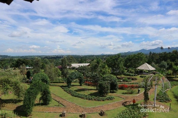 Taman tampak dari atas