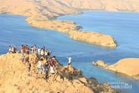 Salah satu spot terfavorit para wisatawan di Labuan Bajo