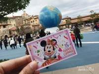 Pintu masuk DisneySea