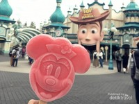 Popsicle Minnie di area Toy Story Mania