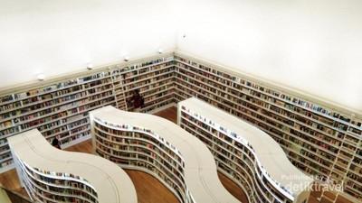 Siapa Sangka, Ada Perpustakaan di Orchard Singapura