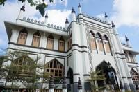 Mesjid Sultan yang merupakan mesjid pertama di Singapura