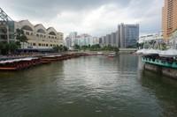 Nama Clarke Quay diambil dari nama Gubernur kedua Singapura yaitu Andrew Clarke