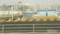 Rambu-rambu penunjuk arah untuk pengguna jalan di Mina, baik jalan raya maupun jalan menuju jamarat.