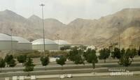 Di luar musim haji, lalu lintas dari Makkah menuju Arafah cukup lengang.