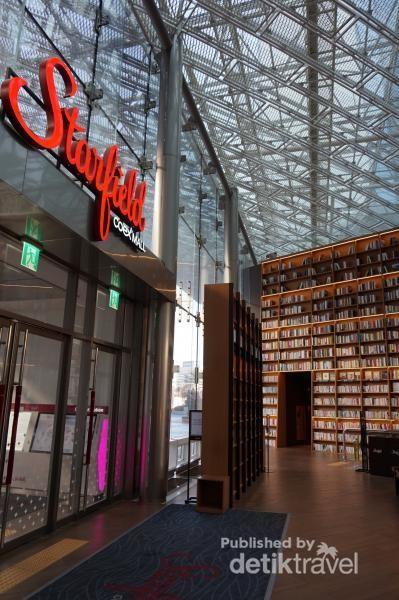 Perpustakaan di Mal Bawah Tanah Bisa Sekeren Ini!