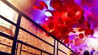 Bahkan sel-sel darah dibuat sedemikian mirip dengan aslinya