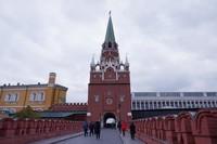 Gerbang masuk istana Kremlin