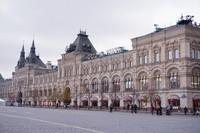 GUM, mal terbesar di Rusia yang memiliki arsitektur Eropa klasik yang mewah