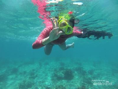 Pesona Bawah Laut Gili Ketapang yang Jarang Orang Tahu
