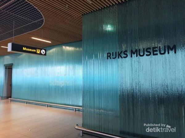 Rijkmuseum dalam Bandara Schiphol, Amsterdam.