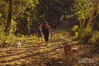Setiap sore, suku kajang dalam biasa menghabiskan waktu dengan bercengkrama dengan masyarakat sekitar atau mengambil air di sumur untuk memenuhi kebutuhan sehari-hari.