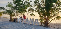 Kecantikan pulau Maafushi