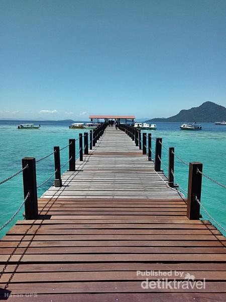 Jetty Pulau Bohey Dulang tahun 2019.
