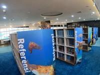 Koleksinya pun cukup lengkap, mulai dari buku sampai jurnal tentang kelautan dan perikanan bisa ditemukan di sini