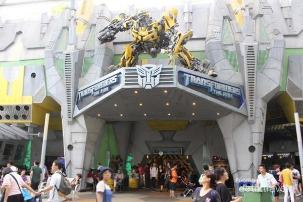 Salah satu zona permainan yang ada di Universal Studios.