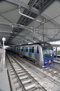Kereta MRT.