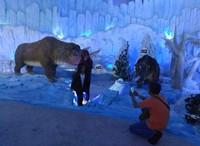 Menikmati zaman es bersama keluarga