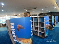 Pastinya koleksi literatur, jurnal dan buku tentang kelautan dan perikanan, tersaji lengkap di tempat ini.
