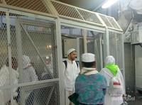 Pintu masuk untuk pengunjung Zamzam Sabeel.