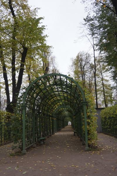 Meskipun pengunjung tidak seramai di waktu musim panas, taman ini tetap bisa dinikmati di musim gugur