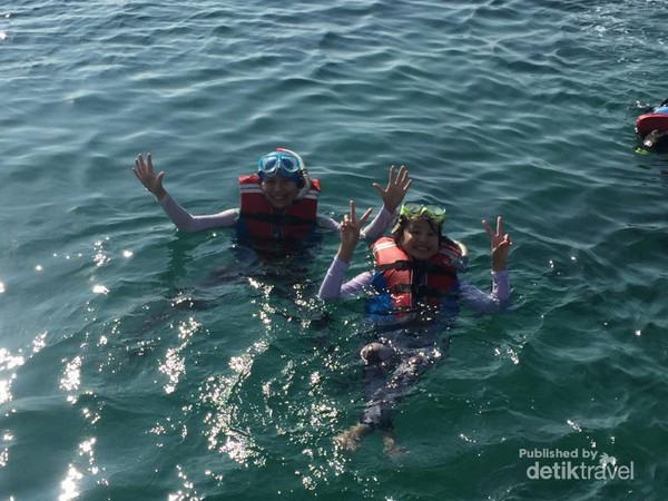 Bersiap buat snorkeling