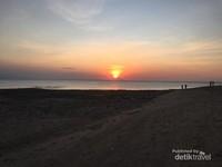 Sunset di Gili Ketapang