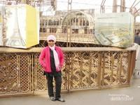Akhirnya saya menjejakkan kaki di puncak Menara Eiffel