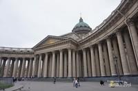 Kazan Cathedral, gereja yang menyerupai istana di Nevsky Prospekt