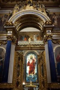 Mosaik rumit gereja ini menjadikannya menjadi salah satu katedral paling mengagumkan di Rusia