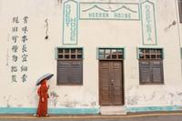 Setiap sudut bangunan di Melaka bisa dijadikan spot foto menarik. Kalian tak akan kehabisan ide untuk berfoto.