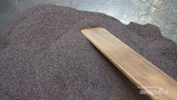 Ramuan herbal tea siap di masak.