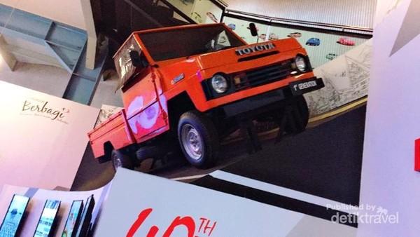 Museum Booth Mobil legendaris anak bangsa Toyota Kijang jadul