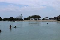 Pantai yang sangat nyaman buat bermain dengan segala usia