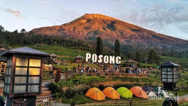 Wisata Alam Posong tepat di kaki Gunung Sindoro