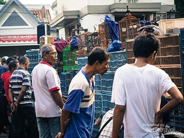 Suasana di Pasar Legi Kotagede