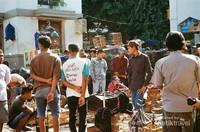 Suasana pagi hari di Pasar Legi Kotagede
