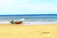Pantai Temajuk Kalimantan Barat yang sudah menjadi sorotan wisatawan saat berlibur dengan keluarga.
