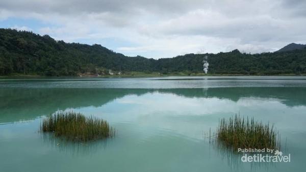 Inilah Danau Linouw yang cantik.