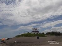 Spot foto di gerbang pantai