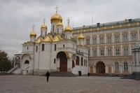 Salah satu bangunan di kawasan Istana Kremlin