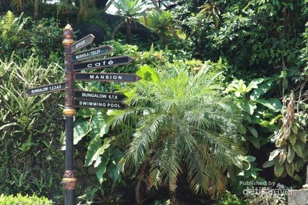Petunjuk arah di Edensor Hills, Villa  Resort